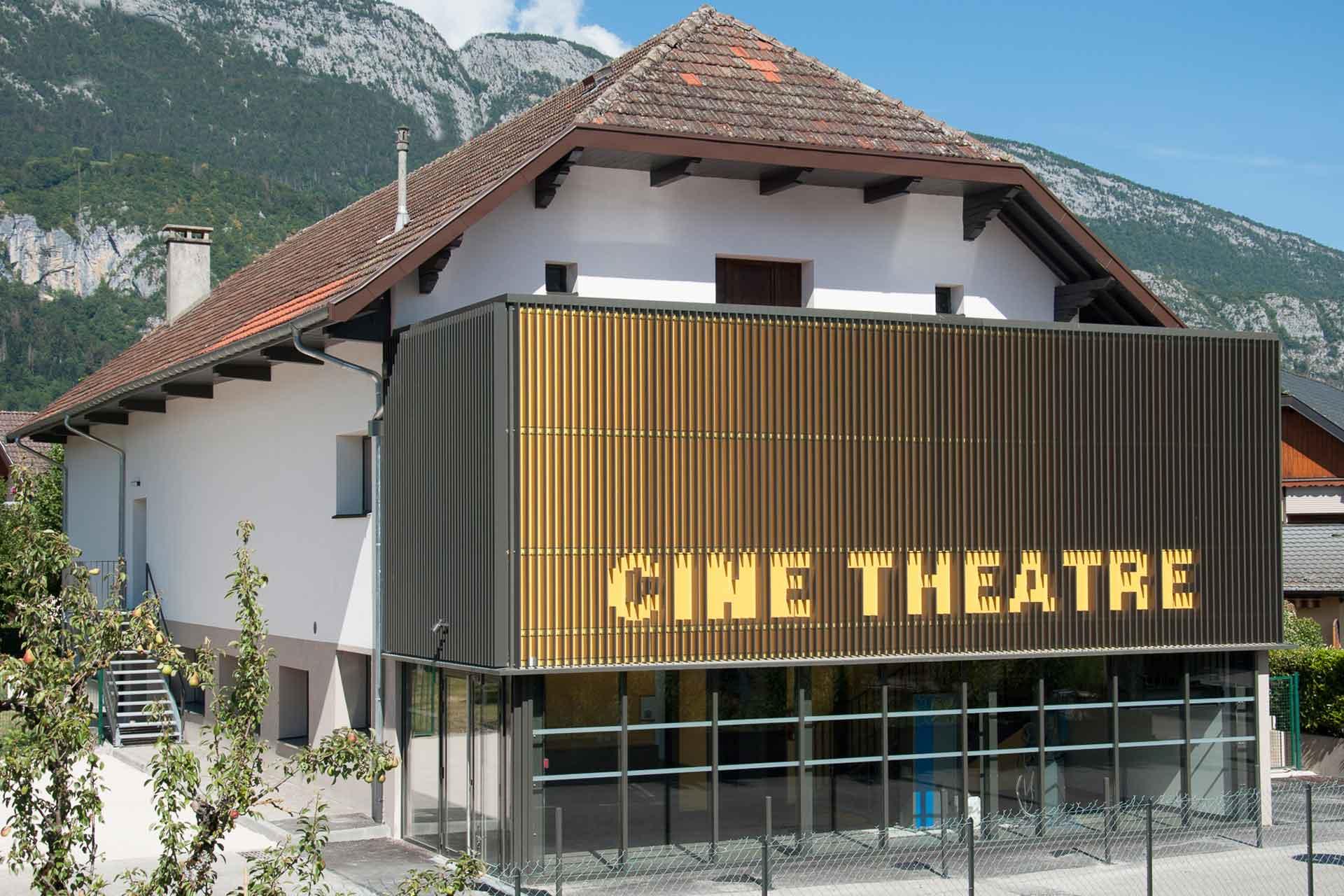 Le cinéma de Doussard rénové
